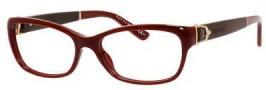 Gucci GG 3639 Eyeglasses Eyeglasses - 00XU Burgundy / Cocoa Leather