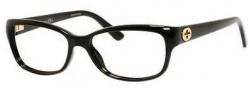 Gucci GG 3648 Eyeglasses Eyeglasses - 0D28 Shiny Black