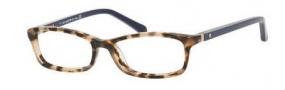 Kate Spade Agneta Eyeglasses Eyeglasses - 01H6 Carmel Tortoise Navy