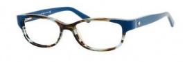 Kate Spade Alease Eyeglasses Eyeglasses - 0X58 Aqua Horn