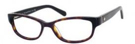 Kate Spade Alease Eyeglasses Eyeglasses - 0X79 Black Tortoise