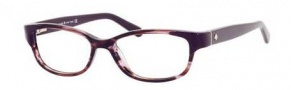 Kate Spade Alease Eyeglasses Eyeglasses - 0X80 Lilac Horn