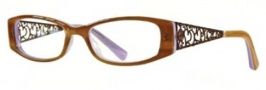 Float KP 225 Eyeglasses Eyeglasses - Brown / Purple