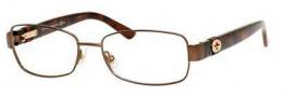 Gucci GG 4243 Eyeglasses Eyeglasses - 00YY Semi Matte Brown