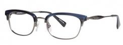 Seraphin Dale Eyeglasses Eyeglasses - 8742 Blue Demi / Antique Silver