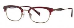 Seraphin Dale Eyeglasses Eyeglasses - 8743 Crimson / Anitque Gold