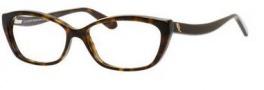 Alexander McQueen 4151 Eyeglasses Eyeglasses - 0086 Dark Havana