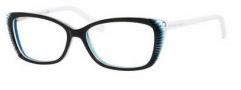 Alexander McQueen 4164 Eyeglasses Eyeglasses - 0VZ0 Black White Blue