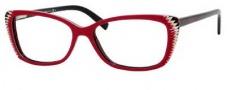 Alexander McQueen 4164 Eyeglasses Eyeglasses - 0RD0 Red Beige/Black