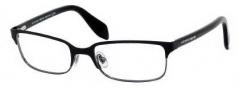 Alexander McQueen 4177 Eyeglasses Eyeglasses - 0N8B Shiny Black Ruthenium