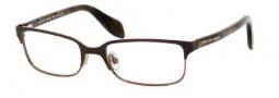Alexander McQueen 4177 Eyeglasses Eyeglasses - 0MUH Shiny Brown