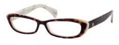 Alexander McQueen 4181 Eyeglasses Eyeglasses - 0TWX Havana Horn