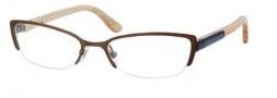 Alexander McQueen 4183 Eyeglasses Eyeglasses - 0WCU Matte Brown/Blue