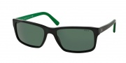 Polo PH4076 Sunglasses Sunglasses - 526171 Shiny Black / Green