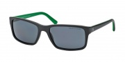 Polo PH4076 Sunglasses Sunglasses - 543481 Matte Black / Polarized Grey