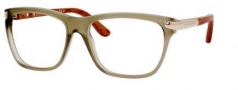 Alexander McQueen 4185 Eyeglasses Eyeglasses - 0WCT Khaki/Gold