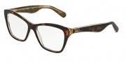 Dolce & Gabbana DG3167 Eyeglasses Eyeglasses - 2738 Havana / Glitter Gold