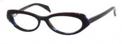 Alexander McQueen 4199 Eyeglasses Eyeglasses - 0K65 Black Burgundy