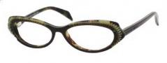 Alexander McQueen 4199 Eyeglasses Eyeglasses - 0YXQ Havana Green