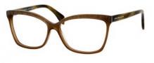 Alexander McQueen 4201 Eyeglasses Eyeglasses - 0K7Z Brown Horn