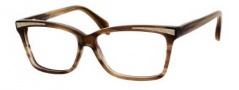 Alexander McQueen 4207 Eyeglasses Eyeglasses - 07L4 Brown Striped