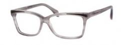 Alexander McQueen 4207 Eyeglasses Eyeglasses - 0N9H Striped Gray