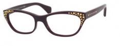 Alexander McQueen 4222 Eyeglasses Eyeglasses - 0PJQ Burgundy