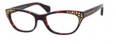 Alexander McQueen 4222 Eyeglasses Eyeglasses - 0TVD Havana
