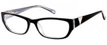 Guess GU 2387 Eyeglasses Eyeglasses - BLK: Black Crystal