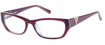 Guess GU 2387 Eyeglasses Eyeglasses - PURBL: Blue Purple