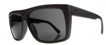 Electric Black Top Sunglasses Sunglasses - Matte Black / Melanin Grey Polarized Lens