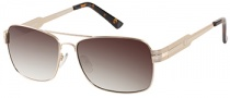 Guess GUP 1015 Sunglasses Sunglasses - GLD-34: Shiny Gold