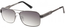 Guess GUP 1015 Sunglasses Sunglasses - GUN-35: Shiny Gunmetal
