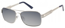 Guess GUP 1015 Sunglasses Sunglasses - SI-48: Shiny Silver