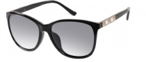 Guess GU 7283 Sunglasses Sunglasses - BKGLD-3: Black