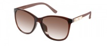 Guess GU 7283 Sunglasses Sunglasses - BRN-34: Crystal Brown
