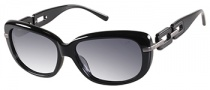Guess GU 7274 Sunglasses Sunglasses - BLK-35: Black