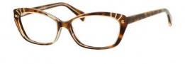Alexander McQueen 4232 Eyeglasses Eyeglasses - 008L Champagne Nge/Havana