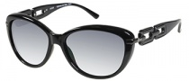 Guess GU 7273 Sunglasses Sunglasses - BLK-35: Black