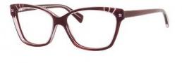 Alexander McQueen 4233 Eyeglasses Eyeglasses - 0SS8 Aubergine Transparent