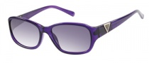 Guess GU 7265 Sunglasses Sunglasses - PUR-3: Purple