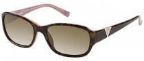 Guess GU 7265 Sunglasses Sunglasses - TOPK-1: Tortoise Pink