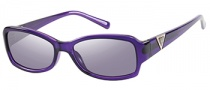 Guess GU 7263 Sunglasses Sunglasses - PUR-3: Purple
