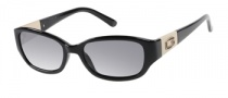Guess GU 7262 Sunglasses Sunglasses - BLKGLD-3: BLACK