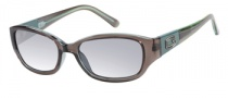 Guess GU 7262 Sunglasses Sunglasses - GRY-3: Grey Green