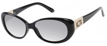 Guess GU 7261 Sunglasses Sunglasses - BLKGLD-3: Black