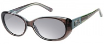Guess GU 7261 Sunglasses Sunglasses - GRY-3: Grey Green