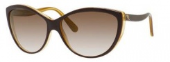 Alexander McQueen 4147/S Sunglasses Sunglasses - 0GLN Brown Yellow (02 brown gradient lens)