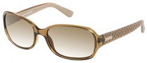 Guess GU 7257 Sunglasses Sunglasses - BRN-1: Crystal Brown