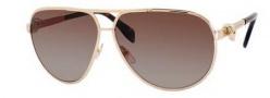 Alexander McQueen 4156/S Sunglasses Sunglasses - 0J5G Gold (JS gray gradient lens)